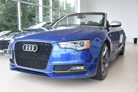 Pre-Owned 2017 Audi S5 3.0 Cabriolet