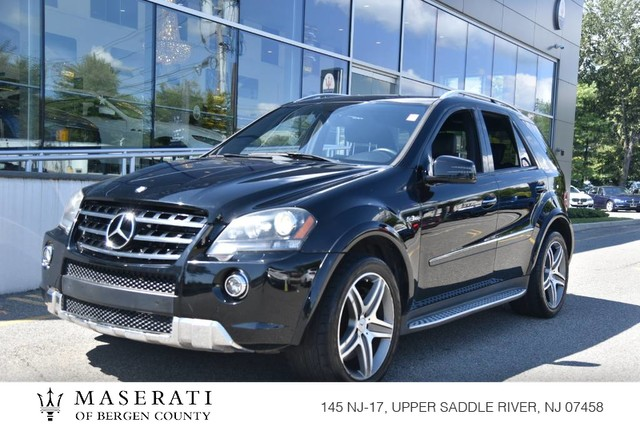 Pre-Owned 2011 Mercedes-Benz ML 63 AMG®