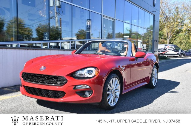 Pre-Owned 2018 FIAT 124 Spider Lusso