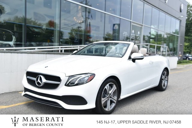 Pre-Owned 2019 Mercedes-Benz E-Class E 450 CONVERTIBLE