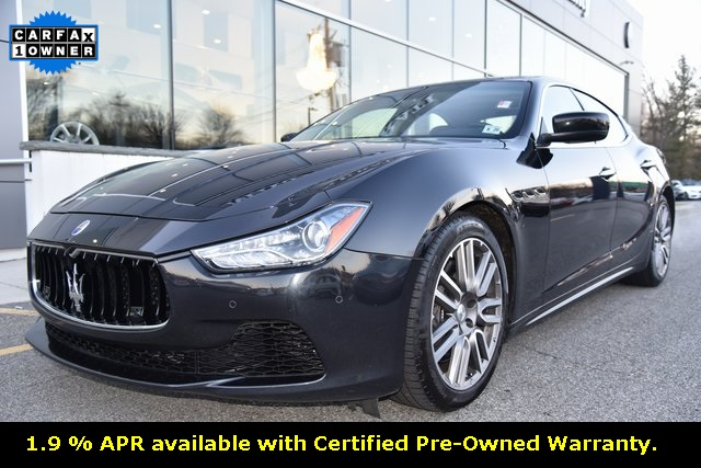 Pre-Owned 2015 Maserati Ghibli S Q4 Certified Pre-Owned.